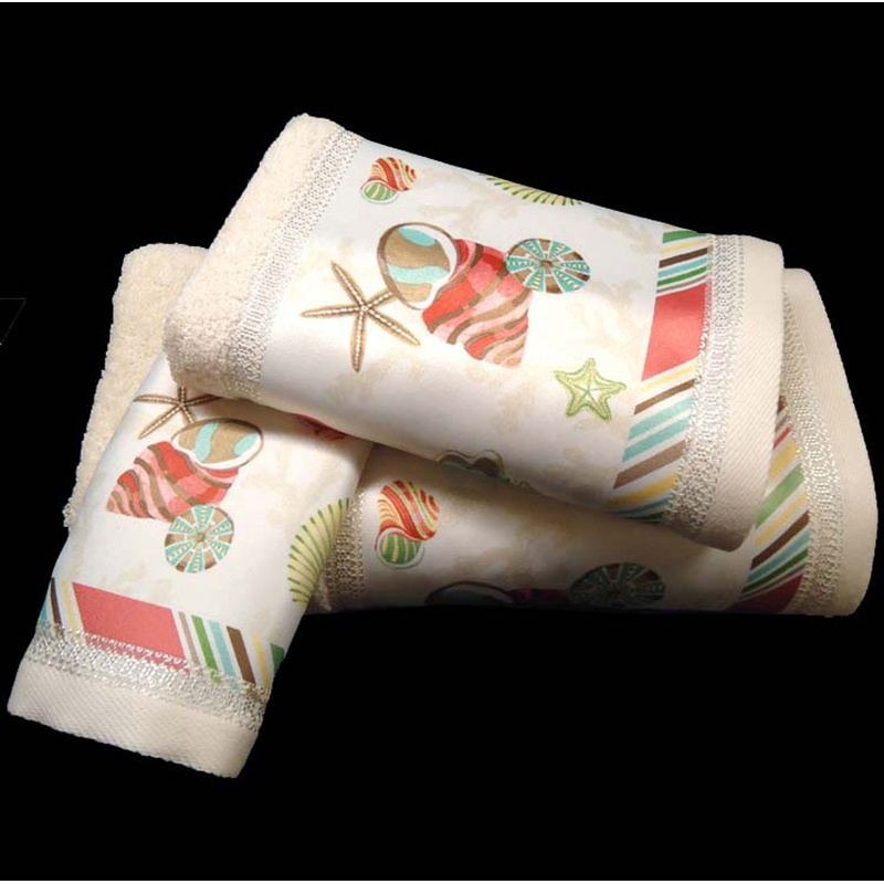 How to make your bath towels more decorative croscill for How to fold decorative bathroom towels